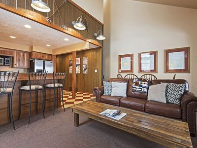 Photo for 200 steps to the slopes! - Closest Three Kings Condo to Park City Resort