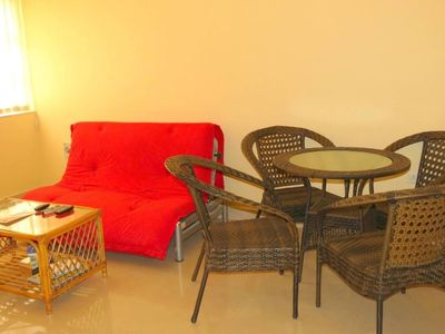 Photo for 1.4 km from the center of Calangute with Pool, Air conditioning, Parking, Balcony (646666)