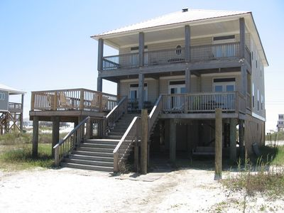 Surrounded by Beaches-Bay or Gulf Side. 5 Bedroom, 3 Baths, A Lot of Deck Space!