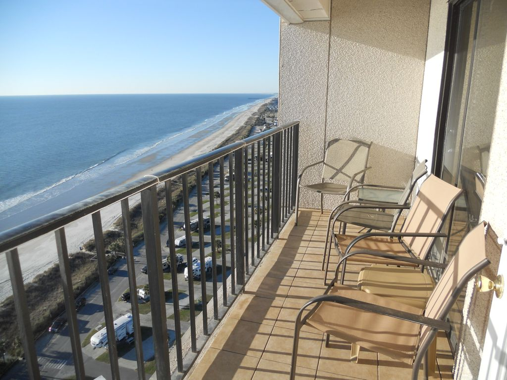 Affordable Direct Oceanfront 3 Bedroom Condo Special Fall And Winter Rates Surfside Beach