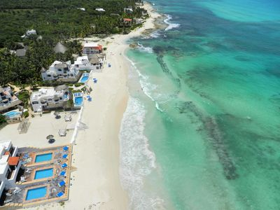 Photo for Secret Beach Villas - Sleeps up to 32 people  - Private Beach -  Owner is a Chef