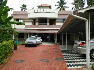 Photo for 8 BHK Big house for short stay at Trivandrum