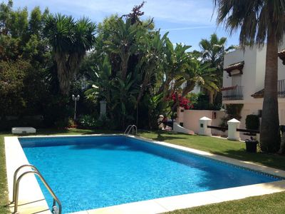 Photo for Townhouse 250 m From The Beach in Marbella Golden Mile!