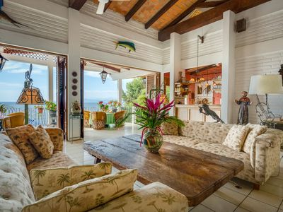 Photo for OCEAN views in Amazing Villa, SPECIAL NOW: Book 5 nites get 1 nt free