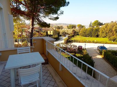 Photo for N185 - Numana, wonderful three-room apartment with terrace and pool