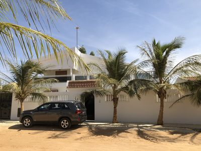 Photo for Large Villa in Saly (1 Duplex, 2 appart and Pool) Guardian and Maid