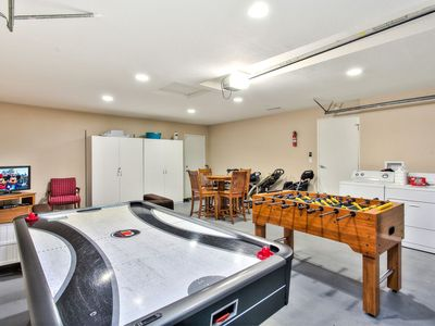 Game Room - Game room with air hockey and foosball!