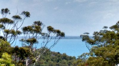 Stunning views to the Great Sandy Stait and National Park