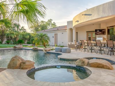 Photo for Sprawling 5BR Paradise Valley Estate with Resort Style Outdoor Amenities