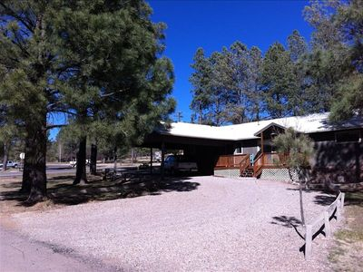 Great Mountain Home with plenty of parking!  Come Enjoy Ruidoso!