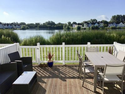 Photo for Hello and welcome to our lakeside holiday home !!