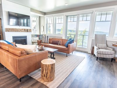 The Sunset Shores Condo on Gorgeous Lake Charlevoix with 45ft Dock!