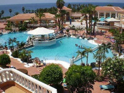 Photo for Tenerife South Apartment - first line las Americas beach - swimming pool