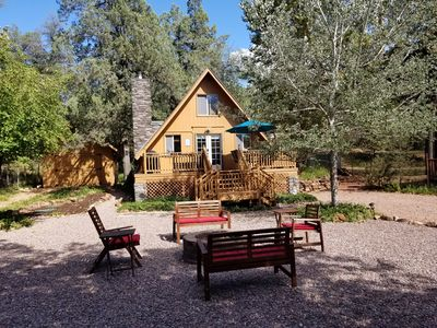 Photo for The Nut House Cabin @ Beaver Valley - Next to the East Verde River & Water Wheel