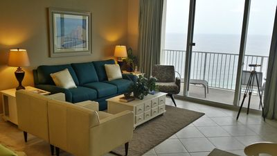 Photo for Ocean front master.  Walk to Pier Park.   Contact Manager for Fall Discounts.