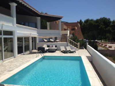 Photo for 4 bedroom Villa, sleeps 6 in Cala Carbo with Pool, Air Con and WiFi