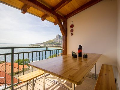 Photo for Charming apartment for 6-8 people, with sea views
