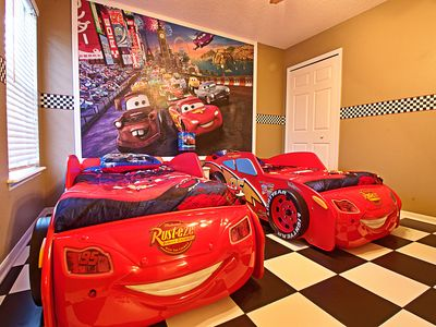 Photo for Princess, Cars, and Nemo Theme Rooms, Hot Tub, Movie Theater, Kiddie Splash Pool