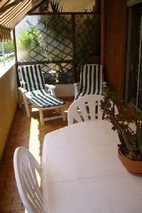 Photo for Beautiful apartment in the heart of Nice, 50 meters from the beach - Garage included