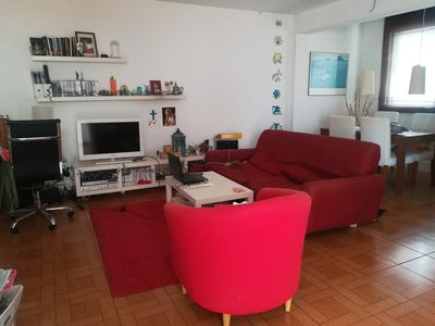 Photo for Spacious and Family-friendly Apartment El Jilguero Close to the Beach with Terrace, Garden & Wi-Fi