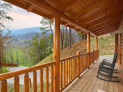 Photo for Premium cabin minutes from the parkway, resort settings, Covered Bridge Resort