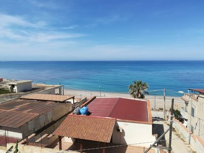 Photo for SECCAGRANDE ribera penthouse on the sea great view panoramic view