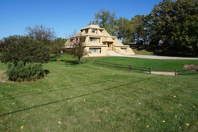 Southwest View of My Pyramid House