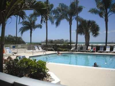 Photo for Beach & Pool Now Open! Beautiful Condo Heated Pool, Free Wifi & Parking!