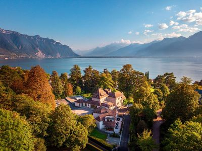 Photo for 2BD Lake view penthouse in Montreux 90m2