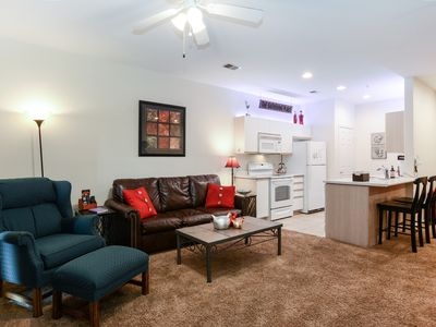 """Photo for Walk-In """"Hideaway at Holiday Hills"""" Condo w/ Netflix/Jacuzzi/Golf/Indoor Pool!"""