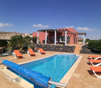 Photo for Stunning villa with panoramic views to sea