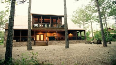 Photo for Paradise in the Pines 5 bdr, 4 bathw pool table 599-649