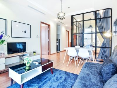 Photo for Scandinavian 3BR Luxury Apt SKY VIEW