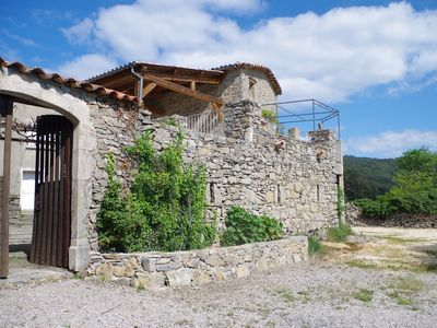 Photo for family farmhouse in the countryside with panoramic views of the Cévennes