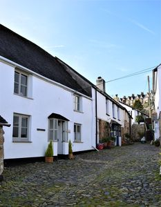 Tucked away in secluded cobbled lane