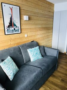 Photo for VAL THORENS - Apartment renovated, at the foot of the slopes + parking