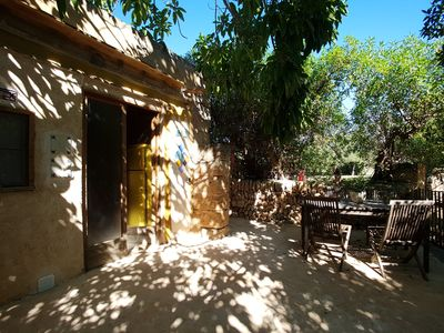 """Photo for Apartment """"Can Toni"""" on finca, AC, near Es Trenc, swimming pool, animals"""