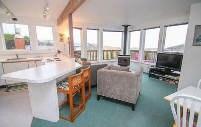 Photo for Cozy Beach Castle has Panoramic Views, Wrap-Around Deck With Ocean Views!