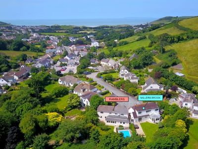 Photo for CROYDE RAMBLERS | 4 Bedrooms | Croyde | Sleeps 8 | Swimming Pool | Hot Tub Hire