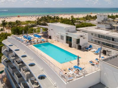 Photo for Ocean Drive 2 BDR w/rooftop pool