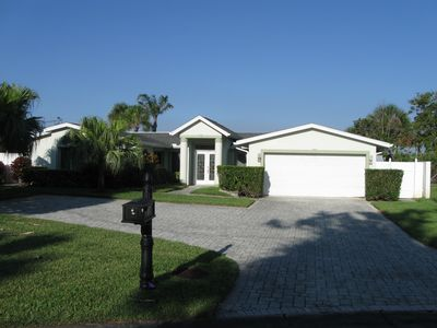 Photo for Cocoa Beach Waterfront Home - 4 Bedr. 3 Baths.  Close to Beach