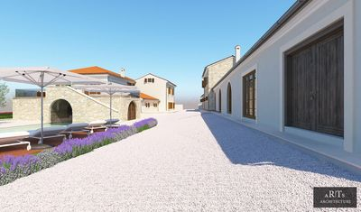 Photo for Villa Fiorini is a perfect luxury getaway in traditional Istrian village