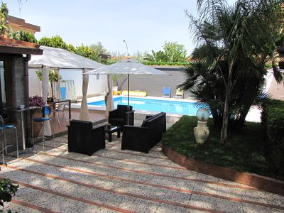Photo for Apartment in a residential villa of approx. 250 private swimming pool, exclusive use.