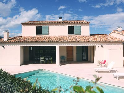 Photo for MODERN VILLA WITH PRIVATE POOL AT THE FOOT OF Mt VENTOUX - 1O people