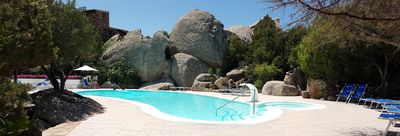 Photo for Apartment Carla with swimming pool in Porto Rotondo, Sardinia