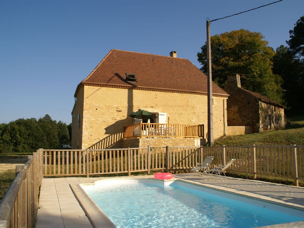 Beautiful Holiday Home With Private Swimming Pool In Unspoilt Nature Villefranche Du Perigord