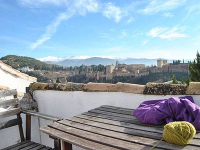 Photo for Cozy Apartment View to Alhambra