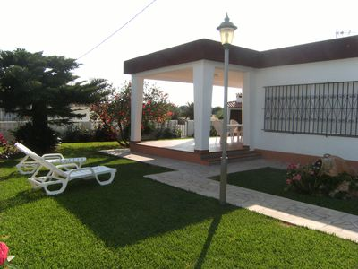 Photo for CHALET WITH NICE AND TRANQUIL GARDEN 6 PEOPLE 200 M. BEACH IN VINAROZ