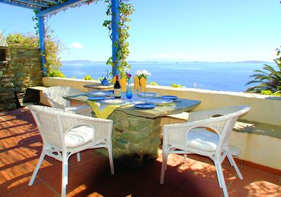 Large terrace with Magnificent Panoramic views