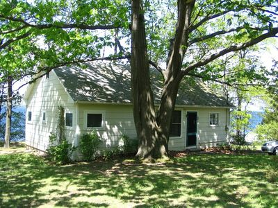 Photo for Want a quiet lakeside getaway? Our 50s-era cottage is perfect for you.